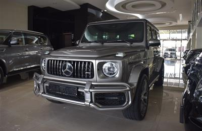MERCEDES-BENZ G63- 2020- GOLD- 580 KM- GCC SPECS