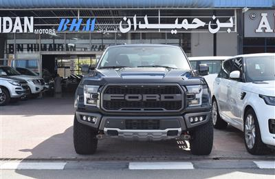 FORD RAPTOR F-150 TURBO- 2019- BLACK- 12 000 KM- GCC SPECS