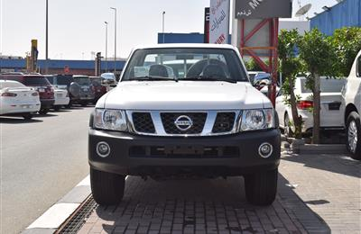 BRAND NEW NISSAN PATROL PICK-UP - 2019- WHITE- GCC SPECS