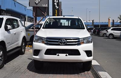 BRAND NEW TOYOTA HILUX- 2020- WHITE- 6 CYLINDER- GCC SPECS