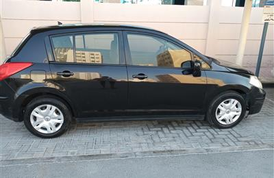 TIIDA Hatchback - Black Color - Model - 2011