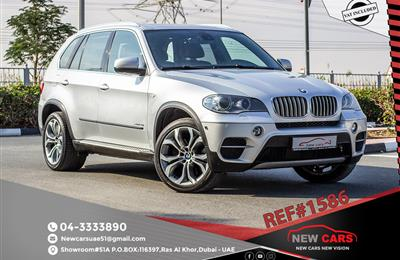 BMW X5 (7 SEATER)- 2011- GCC SPECS