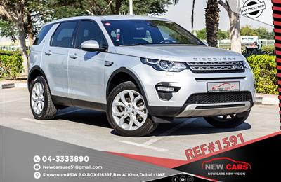 LAND ROVER DISCOVERY SPORT- 2016- GCC SPECS- 1835...