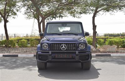 BRAND NEW MERCEDES-BENZ G63- 2020- BLUE- GCC SPECS