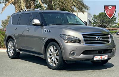 Infiniti QX80 - 2014 - EXCELLENT CONDITION - LOW MILEAGE -...