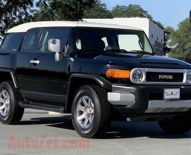 Toyota FJ Cruiser GXR - 2017 - EXELLENT CONDITION - AGENCY MAINTAINED - UNDER WARRANTY