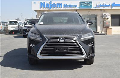 BRAND NEW LEXUS RX350- 2019- BLACK- GCC SPECS