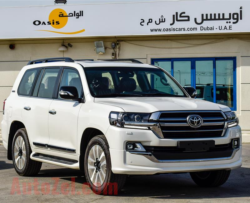 For Export TOYOTA LAND CRUISER EXECUTIVE LOUNGE  2020 - 4.5L DIESEL - FULL OPTION