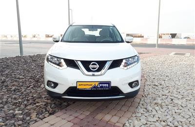 NISSAN X-TRAIL 2.5 4WD 2016 WHITE