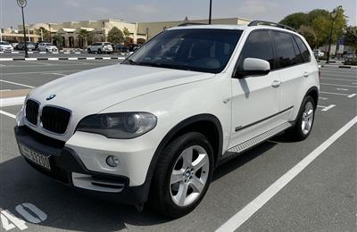 BMW X5 White w/ Saddle Brown Interior