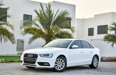 Audi A4 2015 Full options under warranty