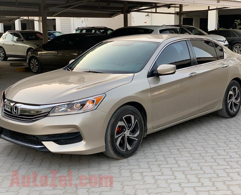 HONDA Accord mid option 2016