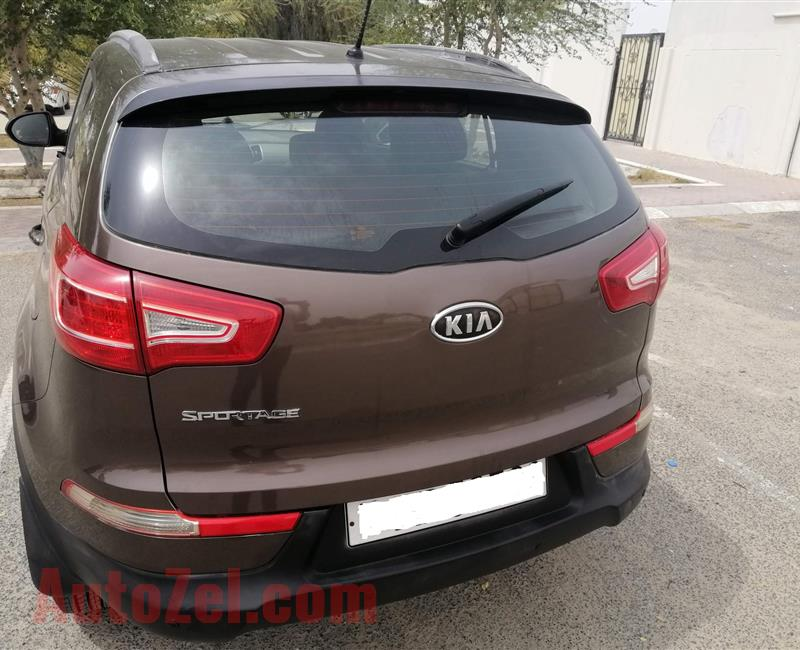 KIA Sportage 2012 Model First Owner and Less Kilometers