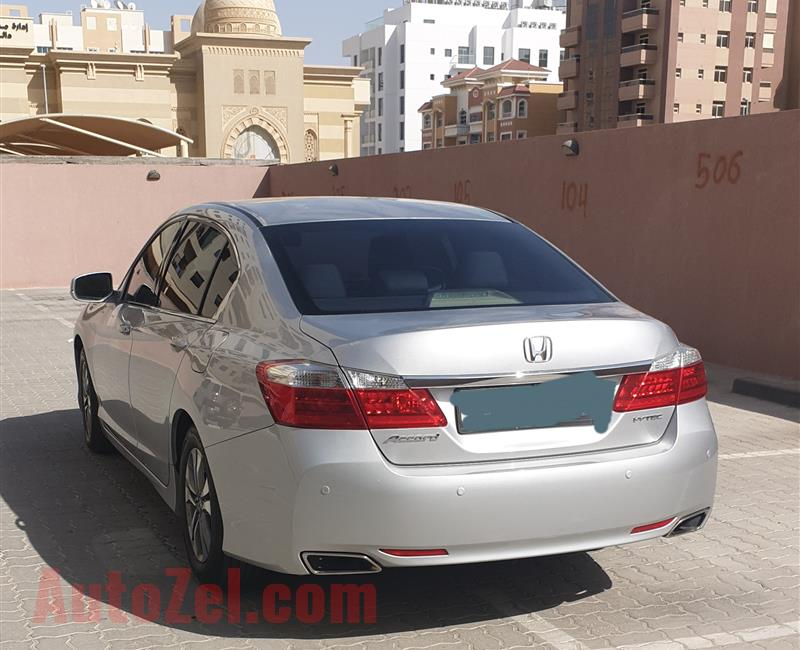 Honda Accord GCC 2015, (Single Owner & Maintained from Honda Agency)