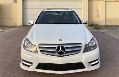 Mercedes C250 2012 White brand new condition
