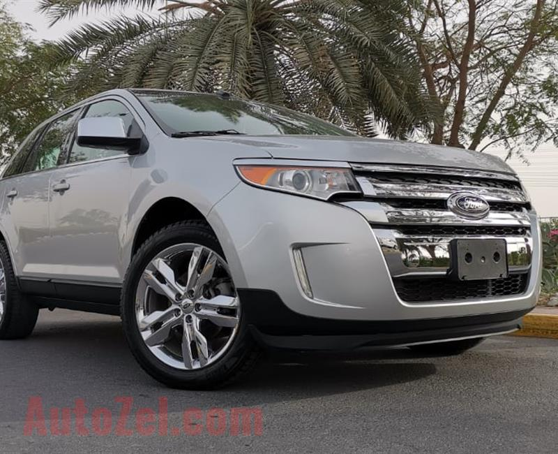 FORD EDGE LIMITED- FULL SERVICE HISTORY- WARRANTY