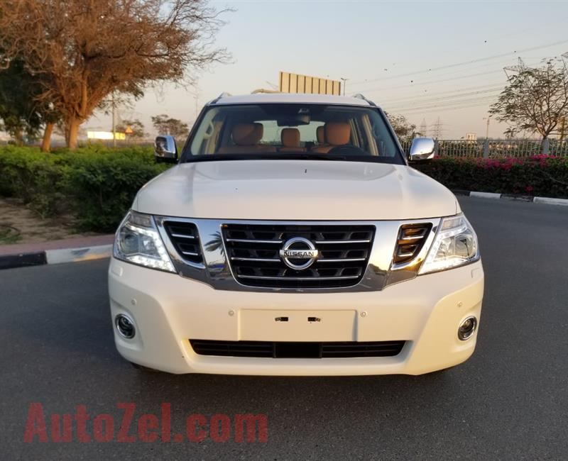 NISSAN PATROL platinum LE- TOP OF THE RANGE- 25 000 KM ONLY- GOOD AS NEW- WARRANTY