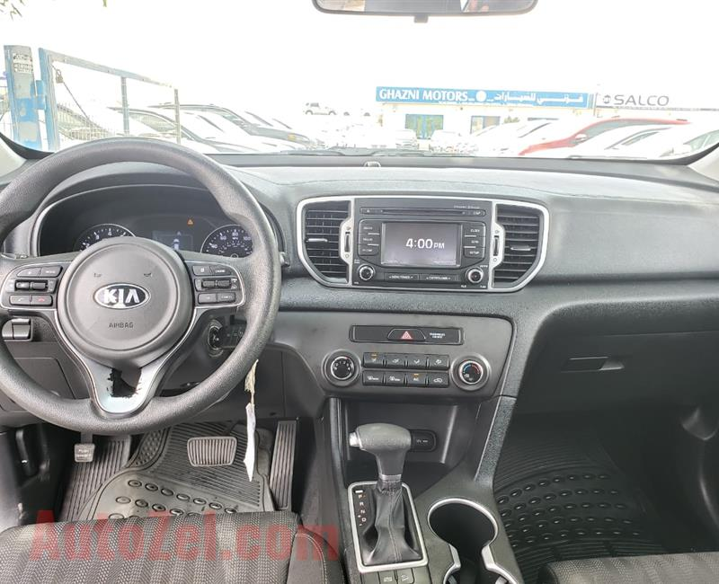 KIA SPORTAGE  FULL OPTION - 2017