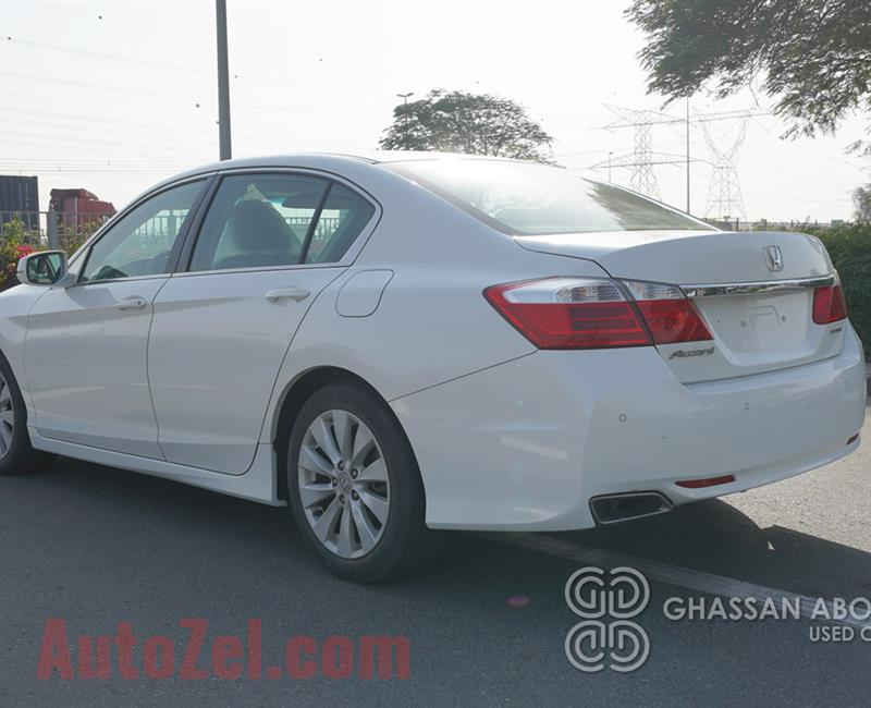 Certified Vehicle with Delivery option; ACCORD(GCC Specs) for sale with warranty(Code : 12464)