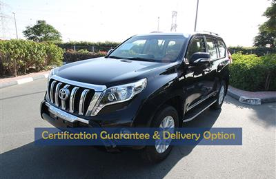 Certified Vehicle with Delivery option;PRADO(GCC SPECS)in...