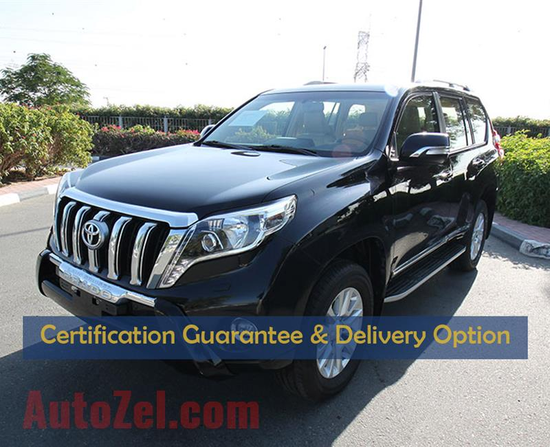 Certified Vehicle with Delivery option;PRADO(GCC SPECS)in good condition with warranty(Code : 23950)