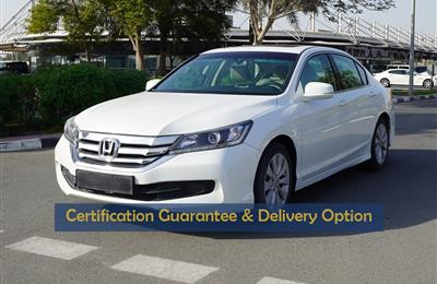 Certified Vehicle with Delivery option; ACCORD(GCC Specs)...
