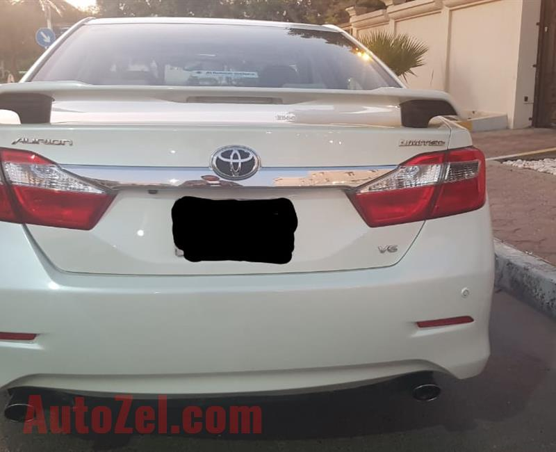 TOYOTA AURION 2014 - 0% DOWNPAYMENT & 1035 AED/ MONTH
