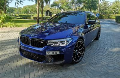 BMW M5 2020 GCC under warranty and free service
