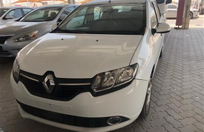 Renault Symbol 2016,white color