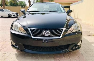 2009 Lexus IS 250 Available in Dubai