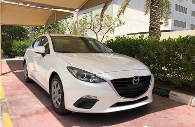 Mazda 3,2016 ,white color ,23302 km only
