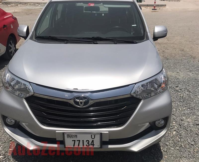 TOYOTA AVENZA FOR URGENT SALE (USED BY FAMILY) IN RAS AL KHOR - CALL ON 0505181200