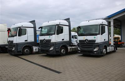 Mercedes-Benz Actros 1845 MP4 Retarder