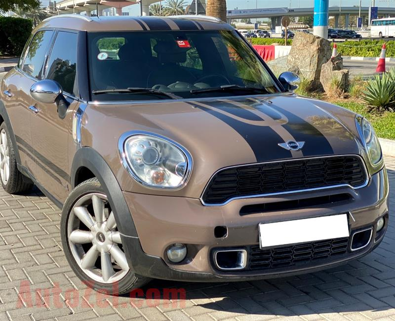 LOW MILEAGE! 2011 MINI COUNTRYMAN COOPER S 2.0 GCC Accident Free! AWD