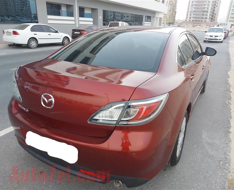 MAZDA 6 2011 FULL AUTOMATIC KM (130,000) SINGLE OWNER FREE ACCIDENTS ORIGINAL PAINT