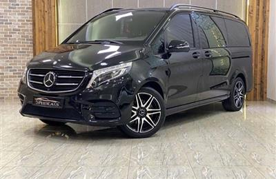 MERCEDES BENZ V250//2019//BLACK//(38000KM) WARRANTY ///...