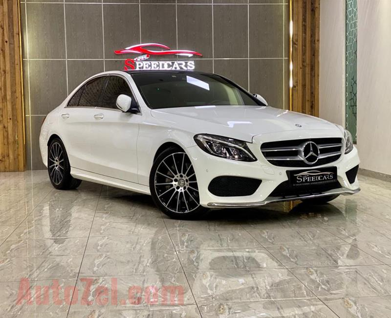 MERCEDES BENZ  C250 2017 WHITE (47000KM)
