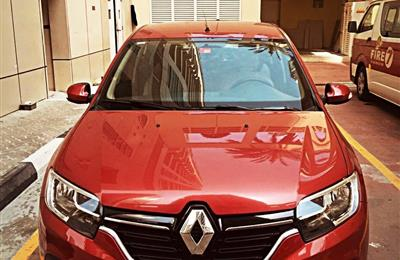 Renault Symbol 2019,GCC ,brand new ,7378 km under warranty