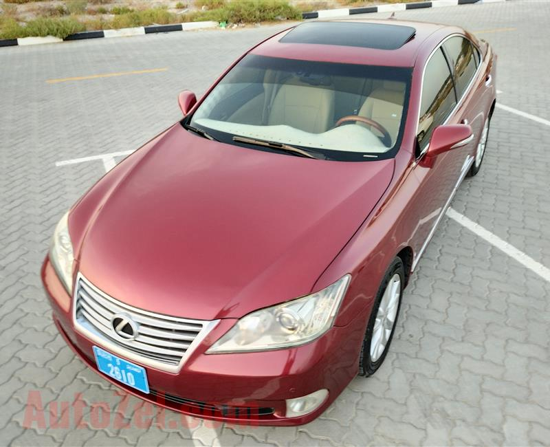 Lexus ES-350 V6 3.5L Model 2010 Year Fully Loaded Options No1 imported USA Specs Very Neat&Super Clean Car
