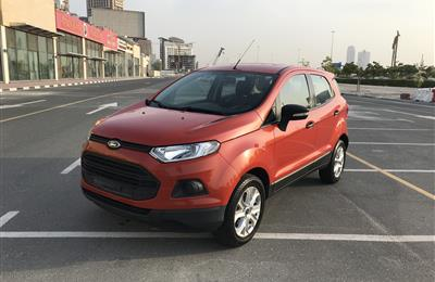 2017 FORD ECOSPORT GCC FOR SALE NO DOWN PAYMENT 100 % BANK...