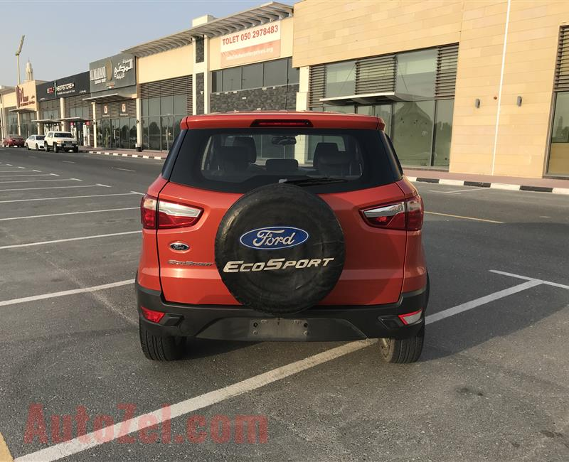 2017 FORD ECOSPORT GCC FOR SALE NO DOWN PAYMENT 100 % BANK LOAN CAN BE ARRANGE WITHOUT DOWN PAYMENT PLEASE CALL 0557622171
