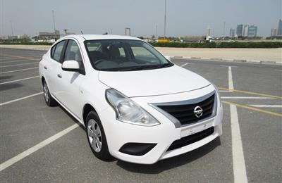 2017 NISSAN SUNNY (MID OPTION) FOR SALE WITH WARRANTY...