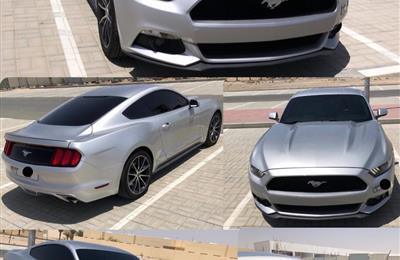 FORD MUSTANG ECOBOOST TURBO  موديل 2017 وارد امريكا 4...