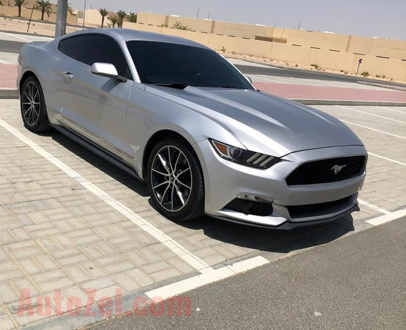 FORD MUSTANG ECOBOOST TURBO  موديل 2017 وارد امريكا 4 سلندر