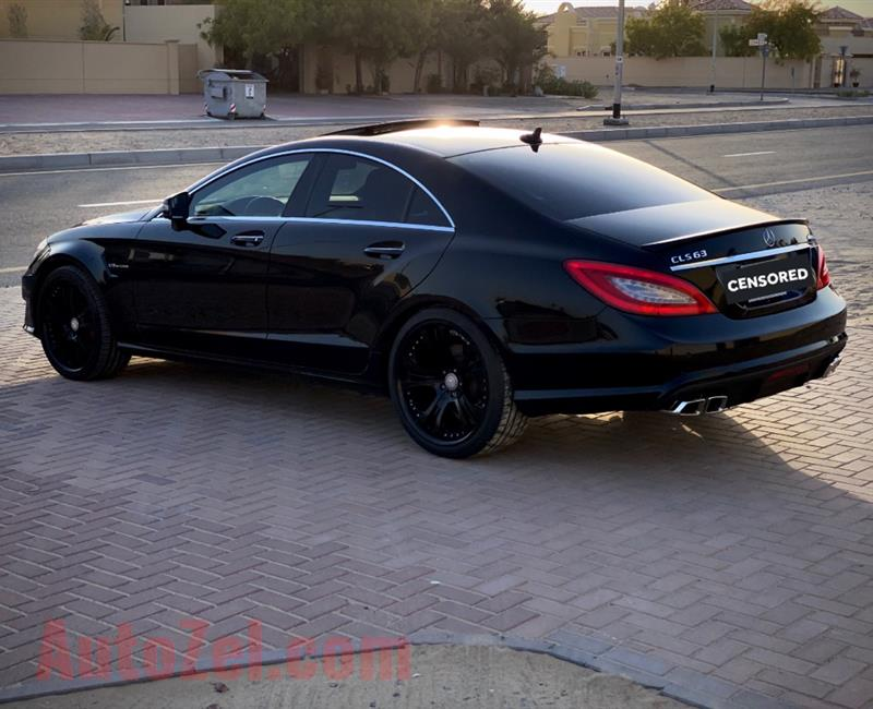 1,267 Monthly | 2013 Black Edition Mercedes CLS V8 AMG | Agency Condition  incl Blind Spot / Lane assist