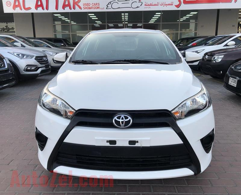 Toyota Yaris 1.3L 2016 - Finance available upto 5 Years - Good Condition -