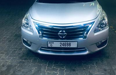 Nissan Altima for sale 2015 with amount 22000 aed , The...