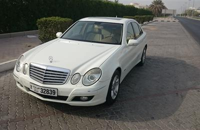 Mercedes E200 in very good condition