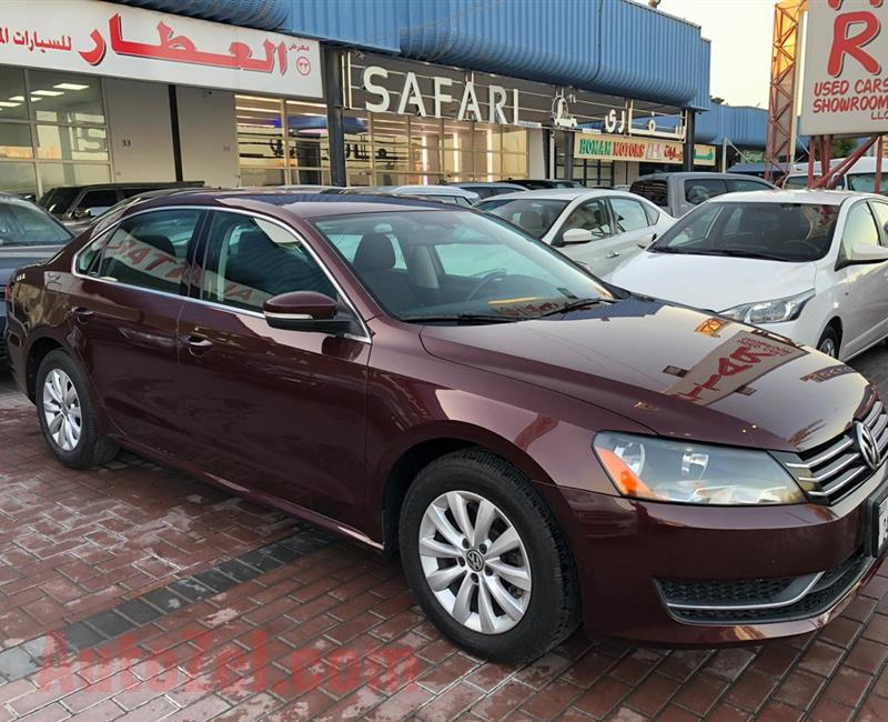 Volkswagen Passat 2015 - Agency Maintained - Single Owner - Accident Free - Cruise Control - Rear Camera - Bluetooth