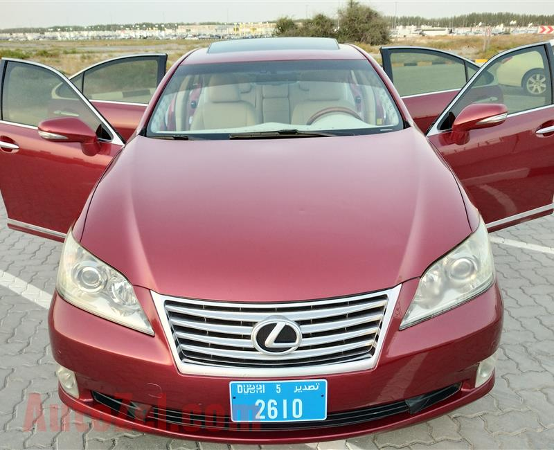 Lexus ES-350 V6 3.5L Model 2010 Year Fully Loaded Options No1 USA Specs Very Neat And Super Clean Car
